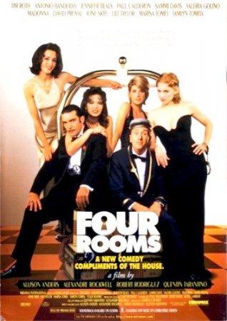 Скачать фильм Четыре комнаты [1995]