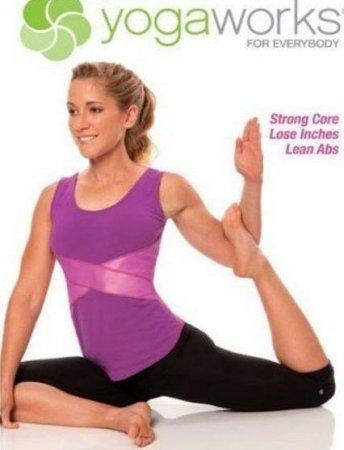 Скачать с letitbit Школа йоги для всех. Плоский живот (2009) DVDRip