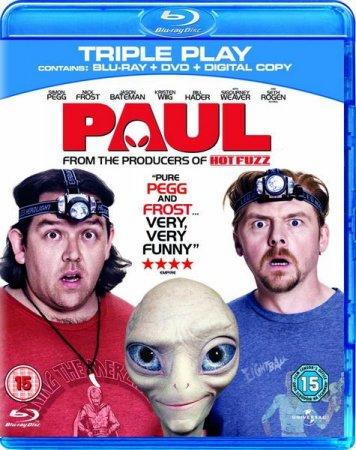 Скачать фильм Пол: Секретный материальчик / Paul (2011)