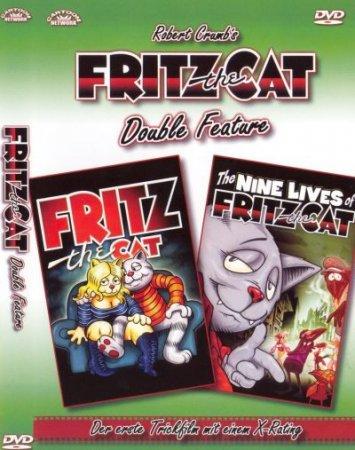 Скачать с letitbit Девять жизней кота Фрица [1974] DVDRip