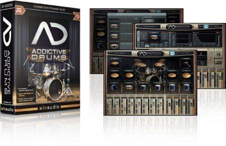 Скачать с letitbit  Addictive Drums - Обучающее видео + Manual (2009)