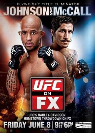 Скачать с letitbit  UFC On FX 3: Johnson vs. McCall (2012) HDTVRip