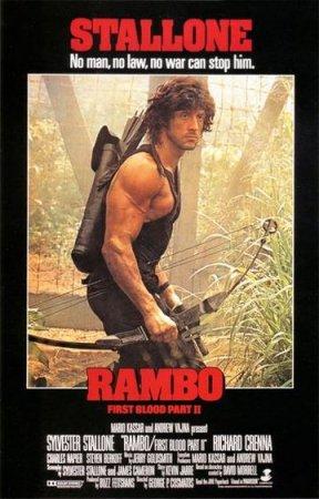 Скачать фильм Рэмбо 2. Первая кровь [1985]