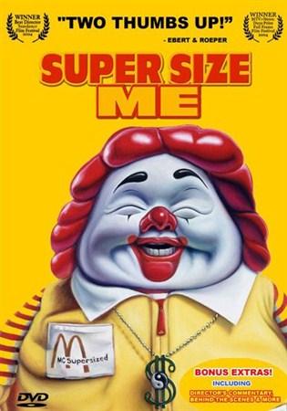 Скачать с letitbit  Двойная порция / Super Size Me (2004) DVDRip
