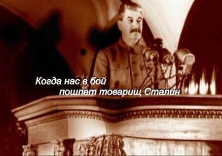 Скачать с letitbit  Когда нас в бой пошлет товарищ Сталин (2012) DVB
