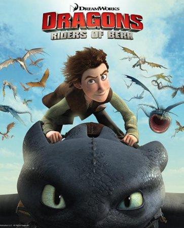 Скачать с letitbit Драконы: Всадники Олуха (1 сезон) (2012)