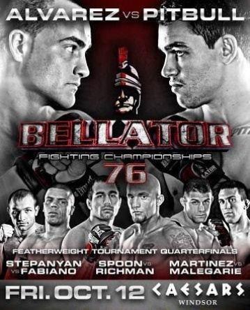 Скачать с letitbit  MMA. Турнир Bellator 76 (2012) SATRip