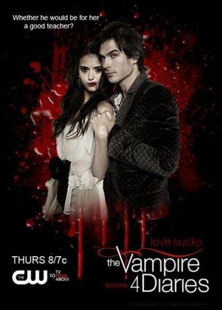 Скачать с letitbit Дневники вампира (4 сезон) [2012] WEB-DLRip