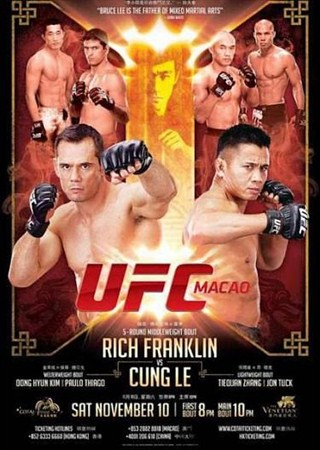 Скачать с letitbit  UFC on Fuel TV 6: Rich Franklin vs Cung Le (2012) HDTVR ...