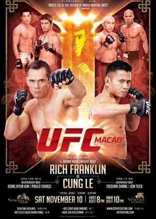 Скачать с letitbit  UFC on Fuel TV 6: Rich Franklin vs Cung Le (2012) HDTVR ...