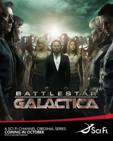 Скачать Звездный крейсер Галактика (1 сезон) [2004]
