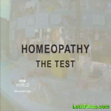 Скачать с letitbit  Гомеопатия: тест / BBC Horizon. Homeopathy: The Test (2002) TVRip