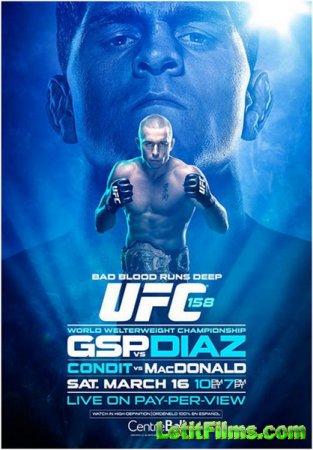 Скачать с letitbit Бои без правил - UFC 158 Georges St-Pierre v Diaz (2013)