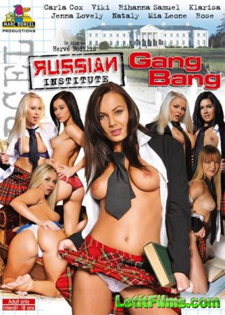 Скачать Russian Institute - Lesson 13 - Gang Bang [2010] DVDRip