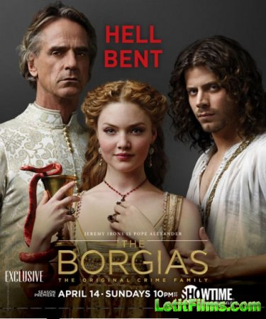 Скачать Борджиа / The Borgias - 3 сезон (2013)
