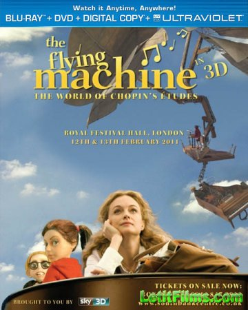 Скачать с letitbit Летающая машина / The Flying Machine (2011)