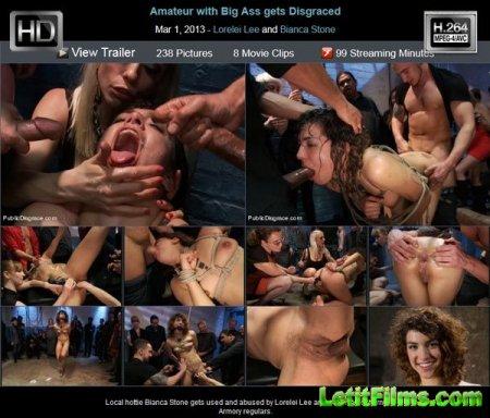 Скачать Любители большой жопы / Amateur with Big Ass gets Disgraced  (2013)