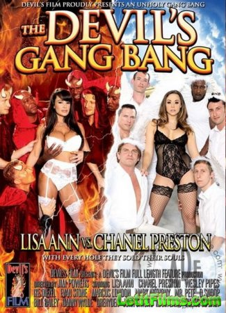 Скачать с letitbit The Devils Gang Bang: Lisa Ann VS Chanel Preston (2013/W ...
