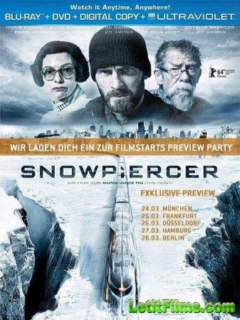 Скачать фильм Сквозь снег / Snowpiercer (2013)