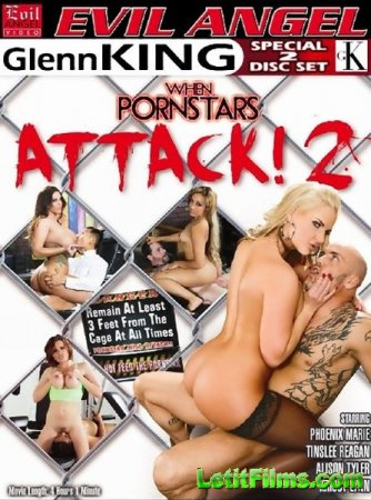 Скачать с letitbit When Porn Stars Attack 2 (2014/WEBRip/SD)