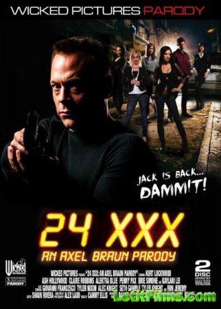 Скачать с letitbit 24 XXX: An Axel Braun Parody (2014/DVDRip)