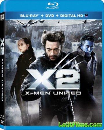 Скачать фильм Люди Икс 2 / X2 (2003)