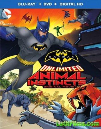 Скачать мультфильм Безграничный Бэтмен: Животные инстинкты (2015)