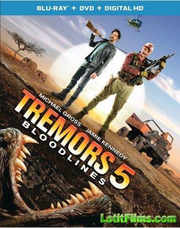 Скачать фильм Дрожь земли 5: Кровное родство / Tremors 5: Bloodlines (2015)