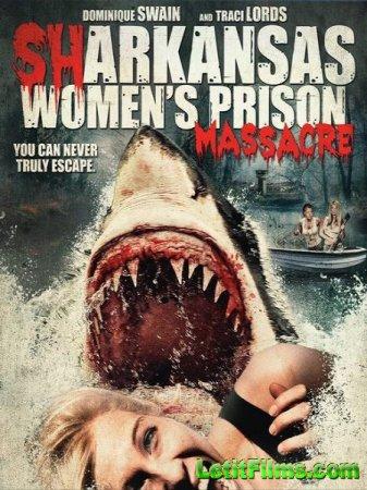Скачать фильм Акулы на свободе / Sharkansas Women's Prison Massacre (2016)