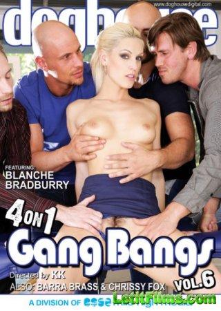 Скачать 4 On 1 Gang Bangs 6 / 4 На 1 Групповушке 6 [2015]