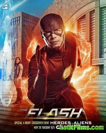 Скачать Флэш / Вспышка / The Flash - 3 сезон (2016)