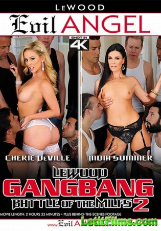 Скачать LeWood Gangbang: Battle Of The MILFs 2 / Групповуха LeWood: Битва М ...