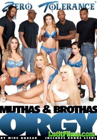 Скачать Muthas & Brothas Orgy 1 / Оргия мамок и братков 1 [2015]