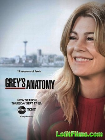 Скачать Анатомия страсти (Анатомия Грей) (15 сезон) / Grey's Anatomy [2018 ...