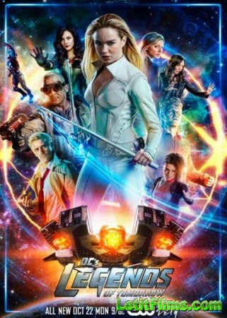 Скачать Легенды завтрашнего дня (4 сезон) / DC's Legends of Tomorrow [2018 ...