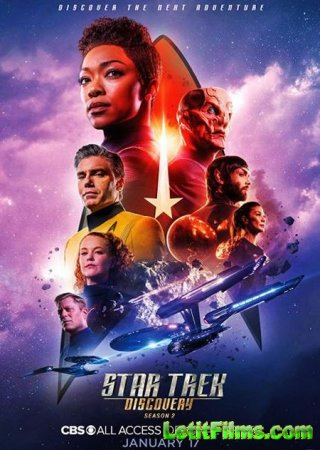 Скачать Звёздный путь: Дискавери (2 сезон) / Star Trek: Discovery [2019]