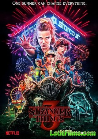 Скачать Очень странные дела / Stranger Things  - 3 сезон (2019)
