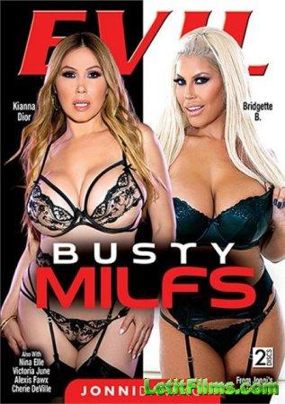 Скачать Busty MILFs / Грудастые мамочки (2020)