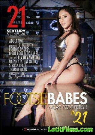 Скачать Footsie Babes: More Foot Fetish 21 / Заигрывающие Малышки: Больше Ф ...